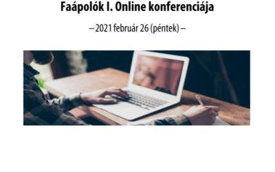 Faápolók I. Online konferenciája
